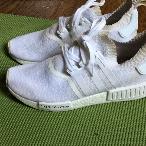 new product e7436 01016 Adidas triple white japan NMD r1